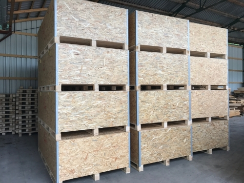 OSB and plywood boxes