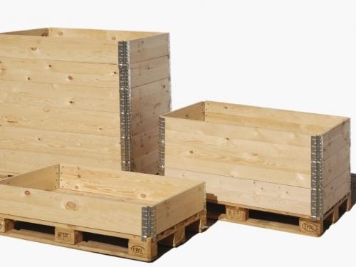 Pallet rails